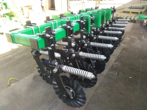 Siva Nova seeder module 3.0 No-Till Technology