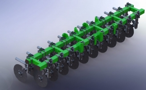 Siva Nova seeder module 3.6 No-Till Technology