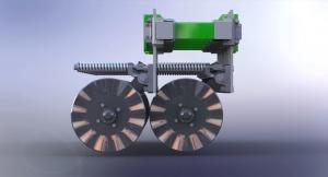 Siva Nova seeder module 3.6 No-Till Technology